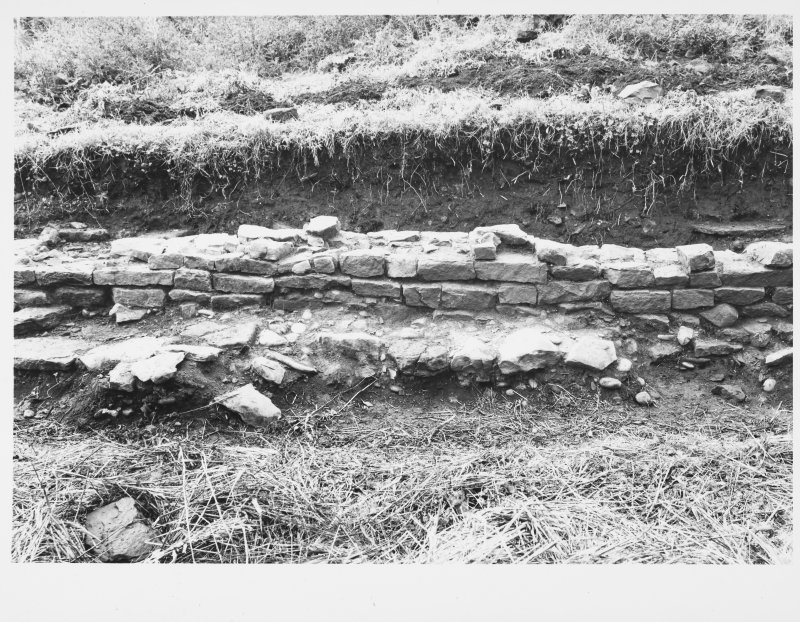 Cramond - Roman Fort Details of Existing Wall To Consolidation