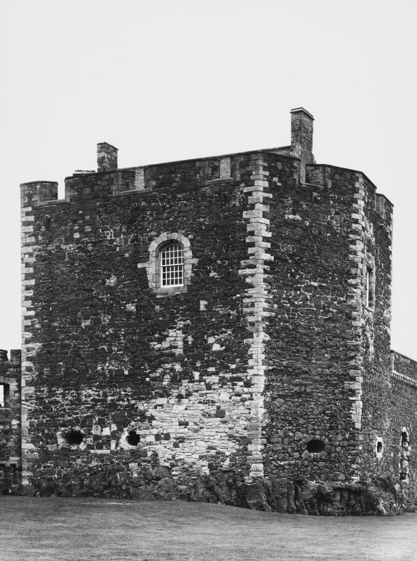 Blackness Castle, West Tower and Tower Hose Details