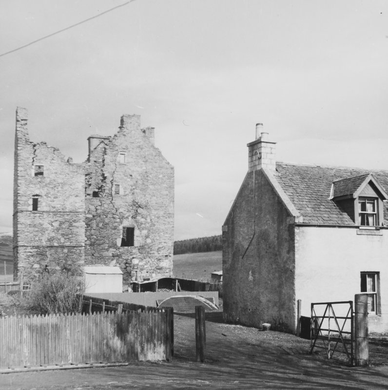 Blairfindy Castle, Banffshire.  General Views