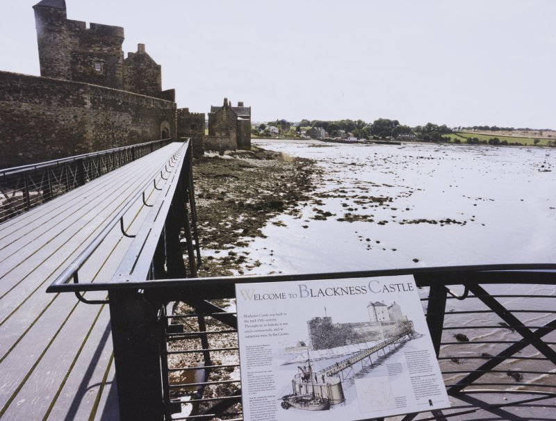 Blackness Castle, Pier and Water Cistern