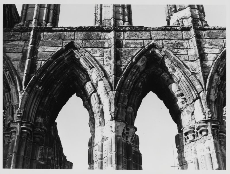 Elgin Cathedral, Morayshire.  Details of Stone Work