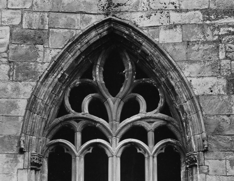 Elgin Cathedral Chapter House Windows