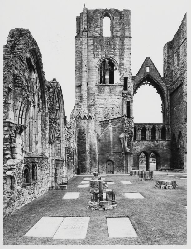 Elgin Cathedral Progress of Work