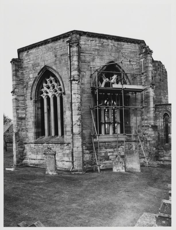 Elgin Cathedral Window Tracery East Elevation Stone Shed DH 5/85