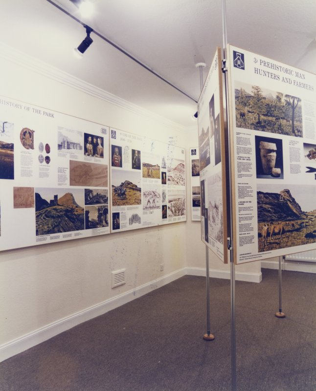 Holyrood Park Lodge Exhibition