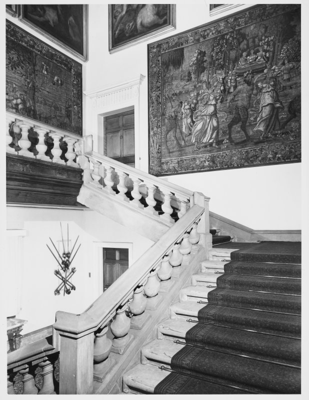 Holyrood House Edinburgh Grand Stair