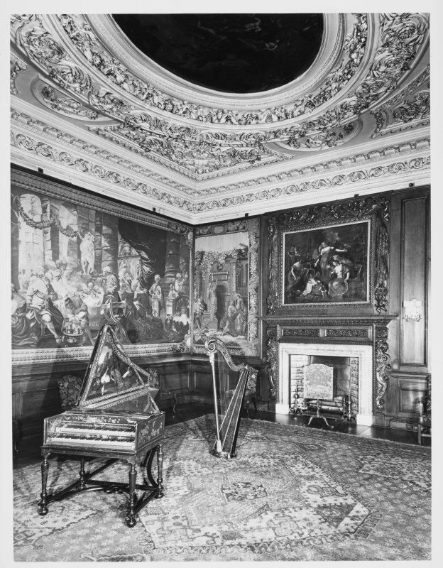 Holyrood House Edinburgh Music Room