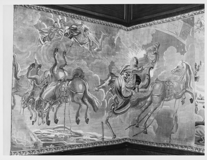 Palace of Holyrood Queen Mary's Bedroom Tapestry Ceilings Carvings