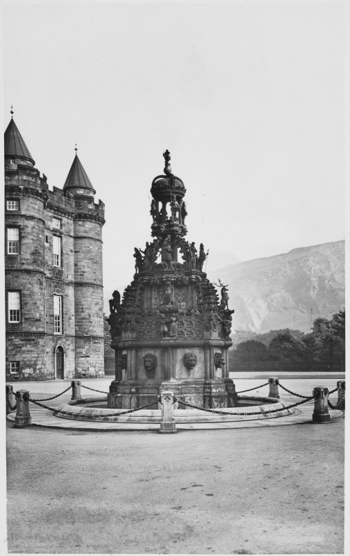 Holyrood House Sundial,Prince Charles Picture Gallery,Throne Room, Queen Mary's Supper Room