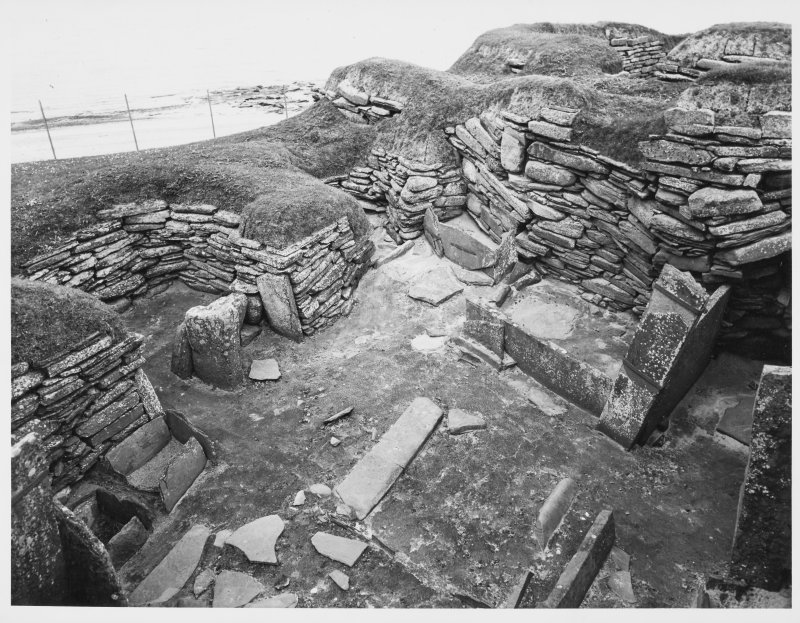 Skara Brae Settlement Orkney General Views