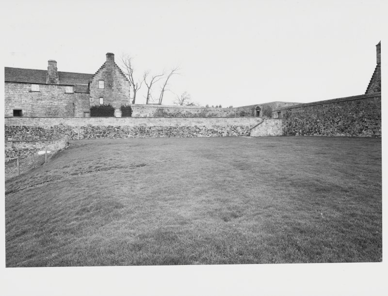 Aberdour Castle, Terraces and Garden Survey