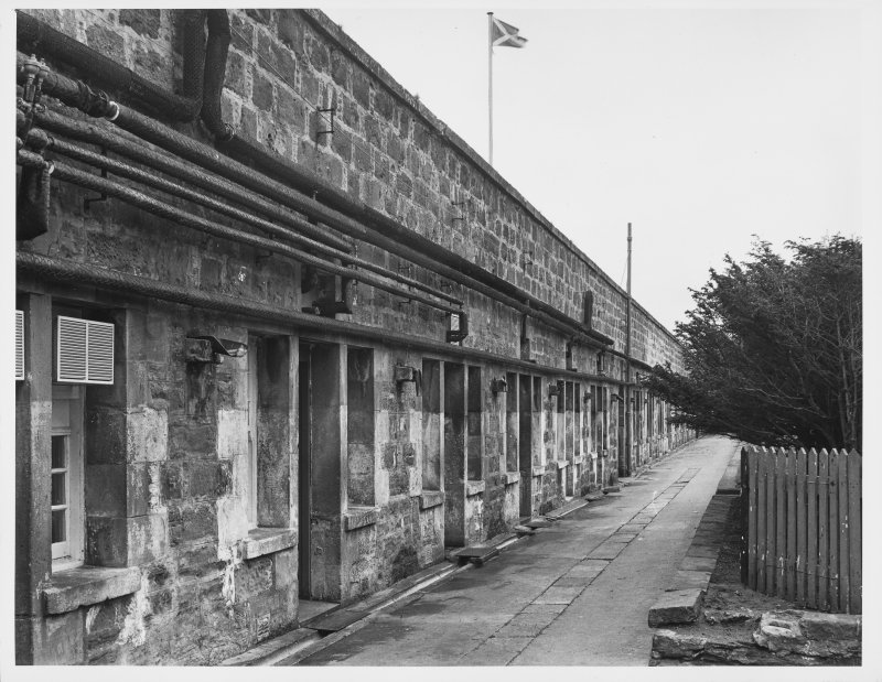 Fort George Covered Way, Gun Ports, N. Casemates