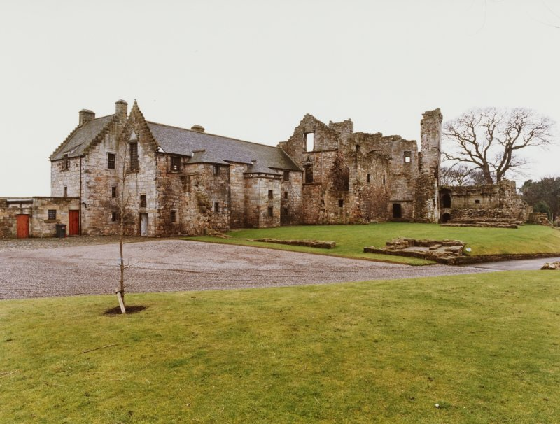 Aberdour Castle, and Lodge House/Terrace Gardden, General Views