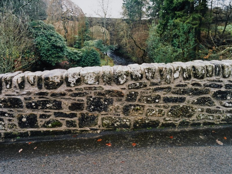 Doune Castle, Retaining Wall, The Steading