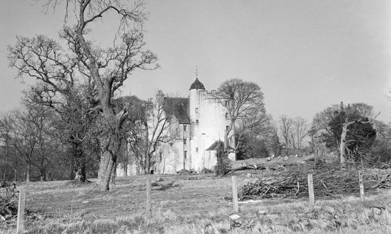 General view of Midmar Castle.