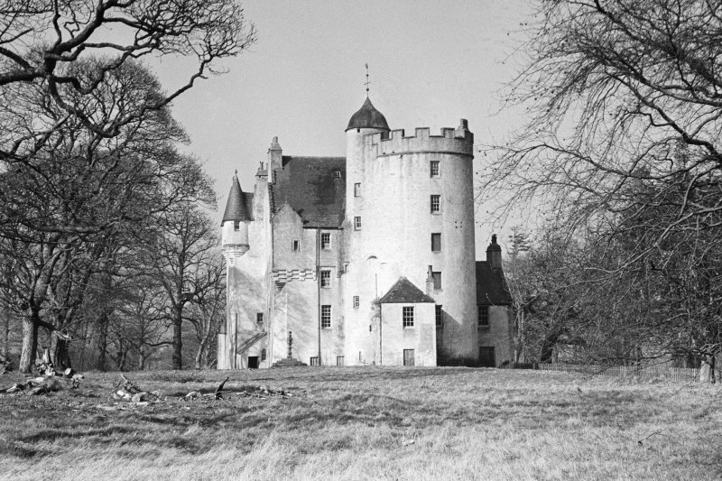View of Midmar Castle from south.