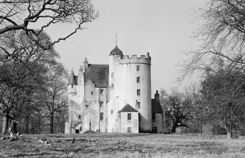 View of Midmar Castle from south west.