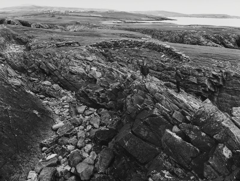 Ness of Burgh fort Nr Sumburgh