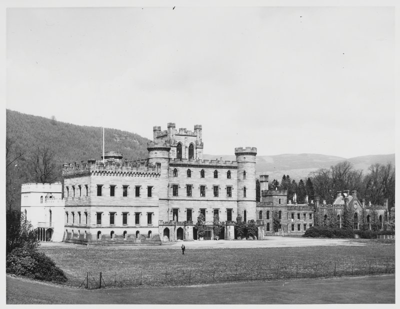 Taymouth Castle, Civil Defence, Perthshire.  General Views
