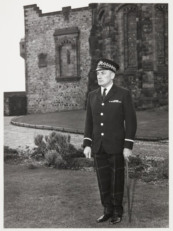 Edinburgh Castle wardens uniforms