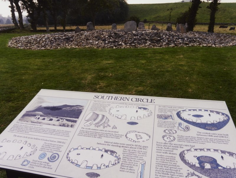Templewood Stone Circle, Display Boards