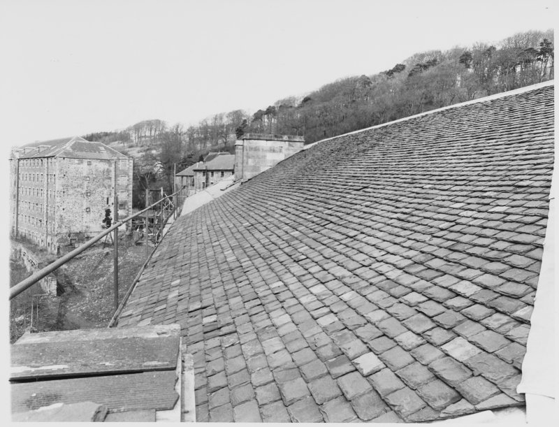 New Lanark School House Roof Repairs + Interiors