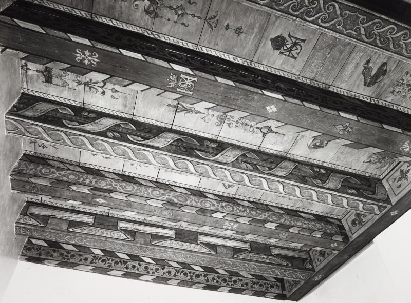 Huntley House Museum Edinburgh, Painted Ceiling