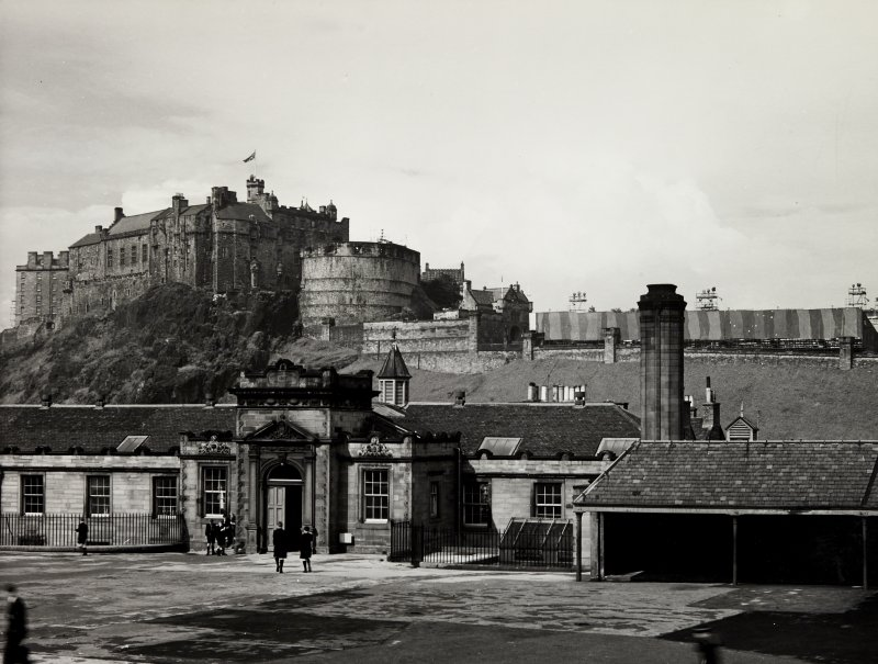 Edinburgh Castle Midlothian Tattoo Stands