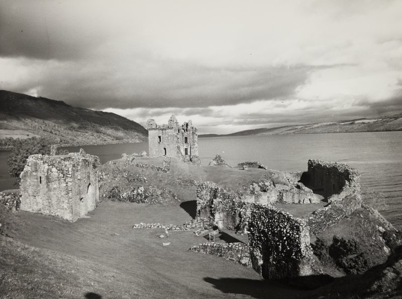 Urquhart Castle, general view.