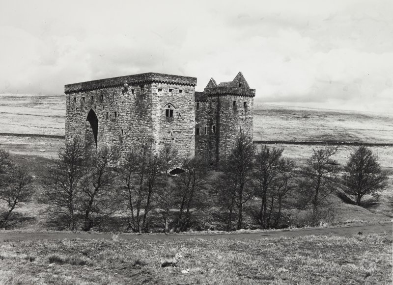 Hermitage Castle + Chapel Liddesdale.  Gen Views
