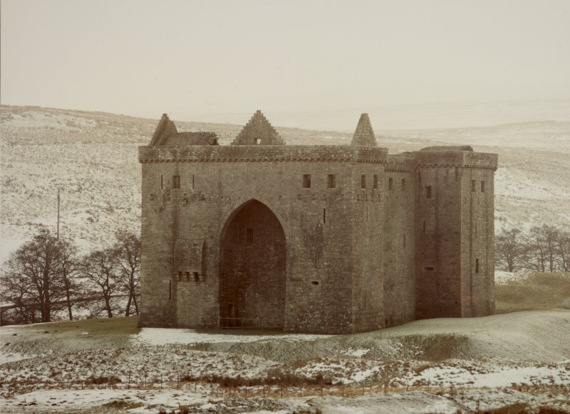 Hermitage Castle General Views (Winter)