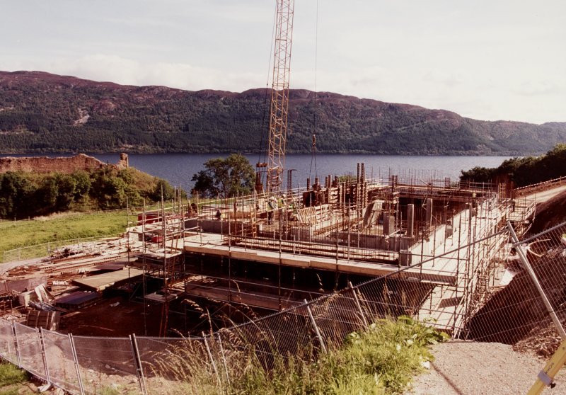 Urquhart Castle Visitor Centre Progress