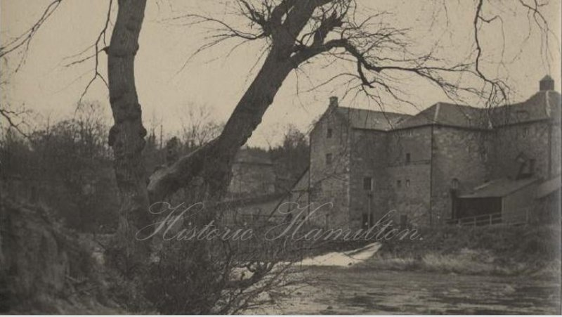 Old Avon Mill before it was demolished.